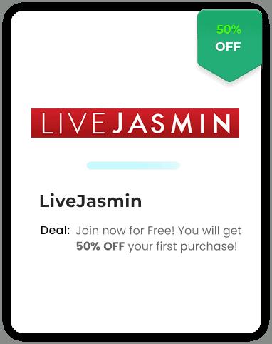 LiveJasmin 50% Off